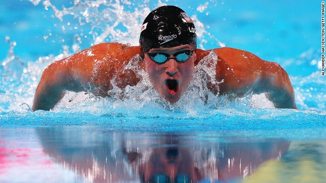 U.S. swimmer Ryan Lochte is a five-time Olympic champion.