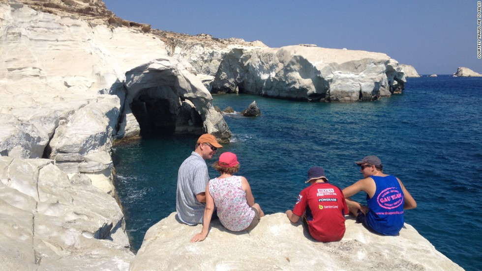 Milos has a lot to offer travelers: ancient thermal baths, underwater caves, an old pirate lair and 3rd-century catacombs decorated with Christian murals.