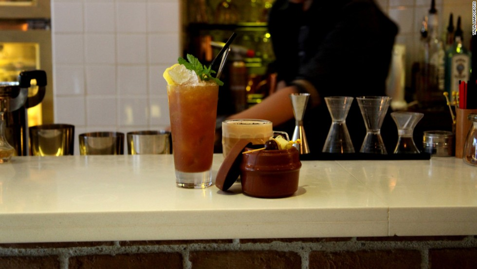 Little L.A.B. aims to give traditional cocktails a Chinese twist.