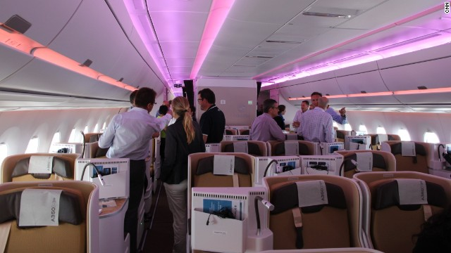 Light aircraft: The LEDs have 16.7 million color options