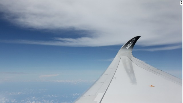 Ahead of the curve: The A350's wing tips