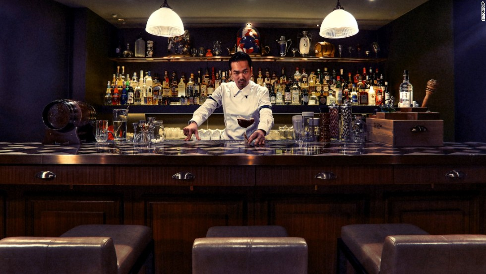 Inspired by Hong Kong's colonial roots, Antonio Lai brings award-winning cocktails to The Envoy.