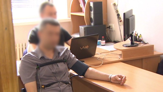 Slovyansk police given 'loyalty tests'