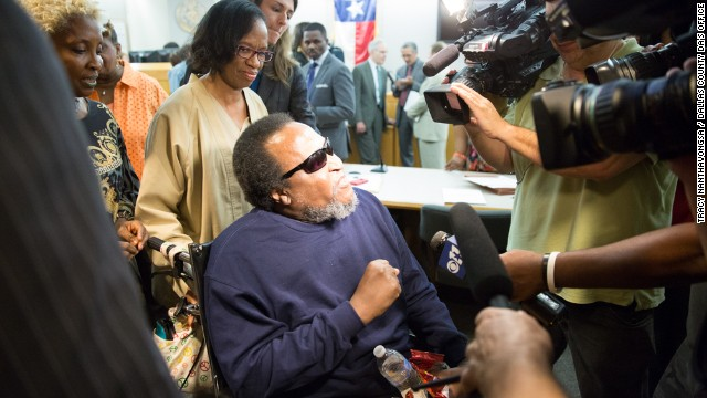 Man exonerated, did not ask for freedom