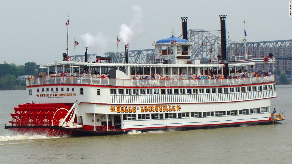 Happy birthday to Kentucky's century-old Belle of Louisville, which still uses its original steam engines.