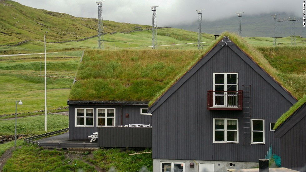 Practical and ecological -- the grass roofs in the Faroe Islands, a remote archipelago halfway between Scotland and Iceland, are the most conspicuous element of the local architecture.