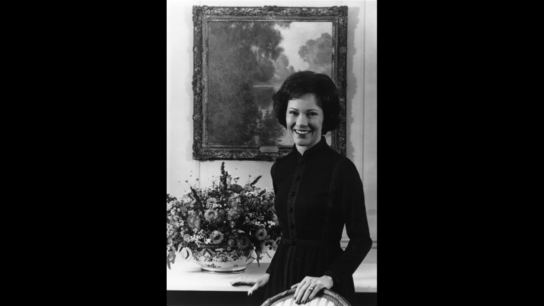 circa 1970:  Rosalynn Smith Carter, wife of American president Jimmy Carter. She grew up alongside the future president in Plains, Georgia and assisted him in running his family peanut farm.