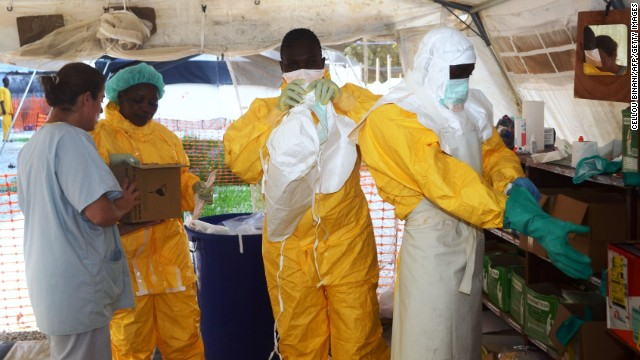 Ebola crisis is an international problem