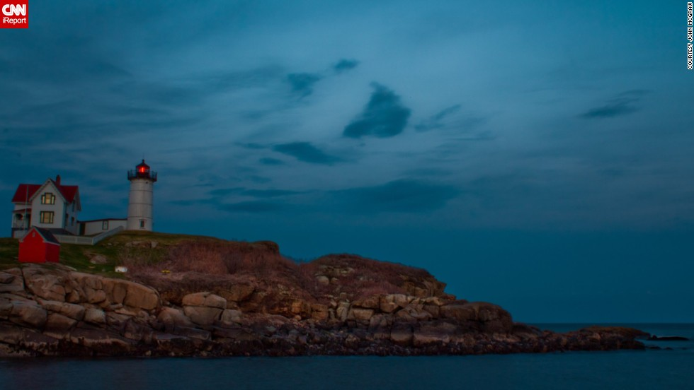 "<a href=""http://ireport.cnn.com/docs/DOC-774281"">John McGraw</a> was working in Boston and decided to get a lobster dinner in Maine on a whim. When he arrived, he was pleasantly surprised to come across this gorgeous view with a lighthouse. ""I never did make it to that lobster dinner."""
