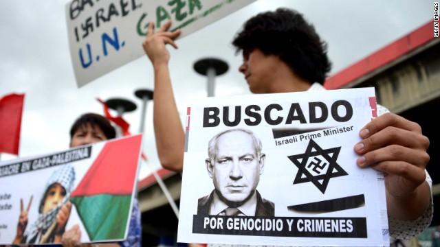 Anti-Semitism rising with Gaza bombings