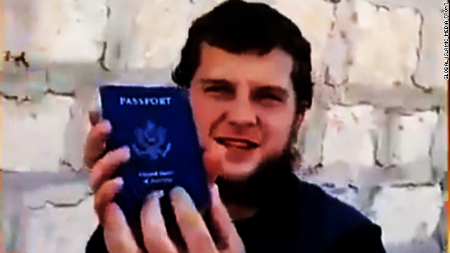 American suicide bomber's threat to U.S.