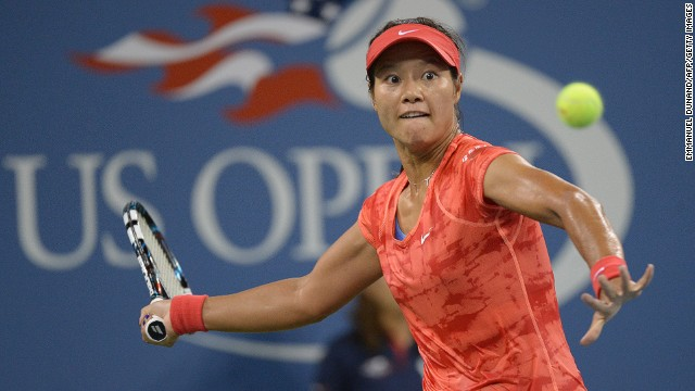 Li Na competing at last year's U.S. Open at Flushing Meadows.