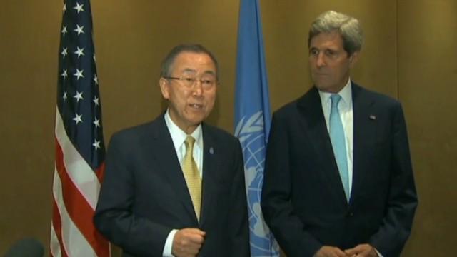 U.S., U.N. announce 72-hour cease-fire