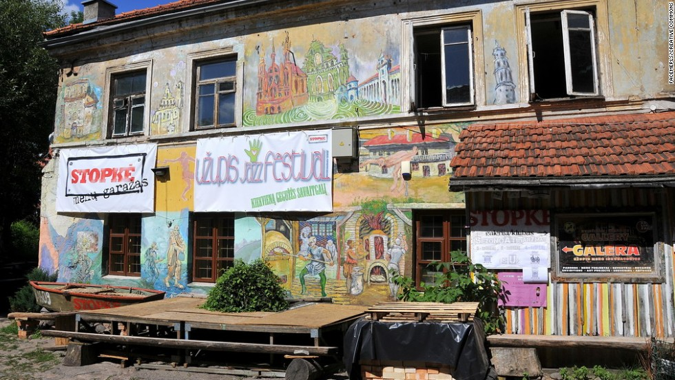 If only Frank Zappa lived to see the day he became the inspiration for a micronation within Lithuania. Some 1,000 of the Republic's 7,000 inhabitants are artists, so artistic endeavors are on the top of current president Roman Lileikis' agenda.
