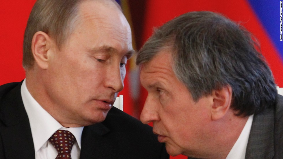 Igor Sechin, the CEO of Rosneft, has had his assets frozen as part of the U.S. sanctions against Russia.