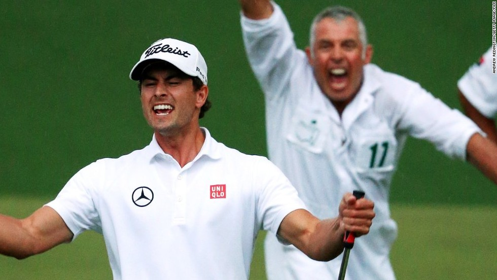 "Williams was then picked up by Australian Adam Scott who ended his long wait for a major title at the 2013 Masters. Williams reveled in that victory. ""Every player requires different things -- the most important role is basically getting your man around the course best you can,"" Williams said of his job."