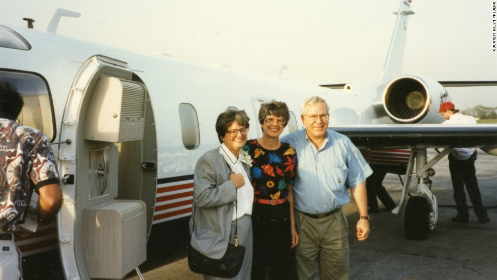Prejean's sister Mary Ann and brother Louie accompanied her to Notre Dame University when she won the 1996 Laetare Medal, awarded for outstanding service to the Catholic church and society.