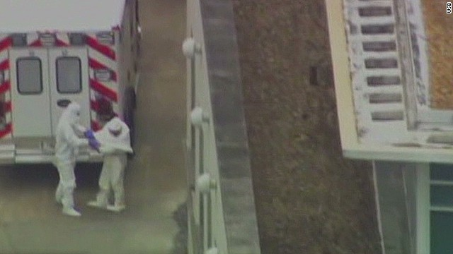 Ebola patient arrives at hospital