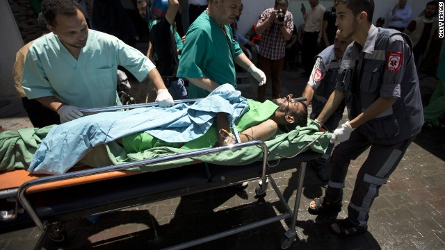 Another attack near U.N. school in Gaza