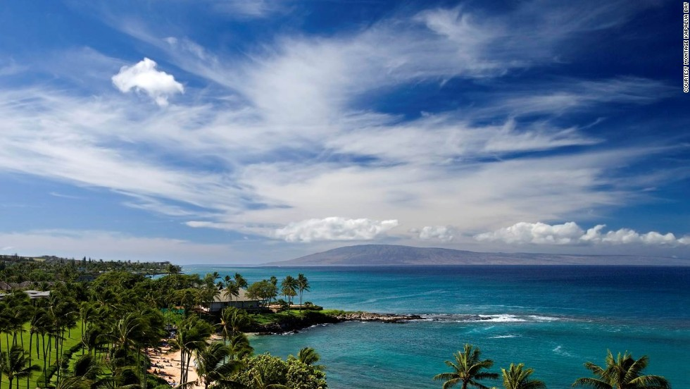 On Maui's northwest shore, Montage Kapalua Bay is an oceanfront property with just 50 suites, ranging from one to four bedrooms.