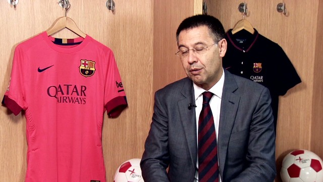 Josep Bartomeu speaks on Pep Guardiola