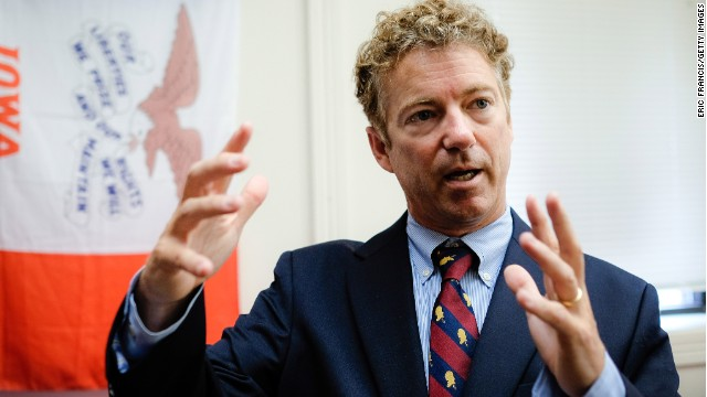 Rand Paul questioned on Israel