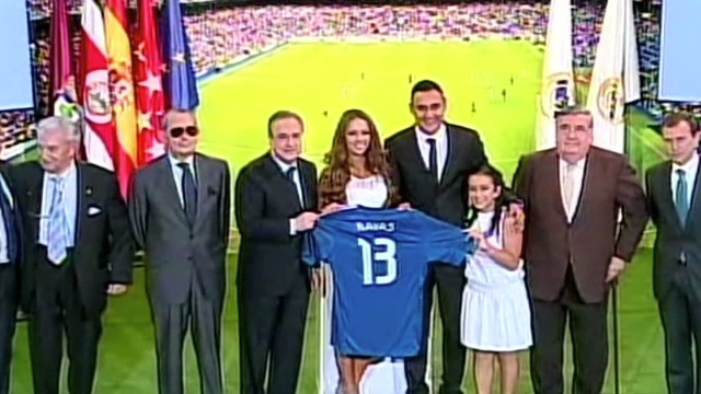 cnnee cafe chiloeches keylor navas real madrid_00003025.jpg