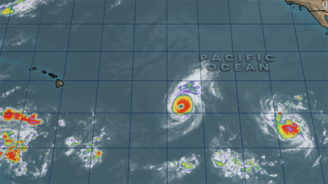 2 rare tropical cyclones near Hawaii