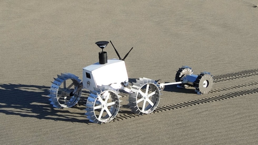 "Meaning ""White Rabbit"" in Japanese, the Hakuto team is led by Takeshi Hakamada, who says his team has already tested several prototypes in partnership with Tohoku University. Hakamada is intensely confident of his team's ability to get to the moon and said two rovers have been designed for cave exploration."