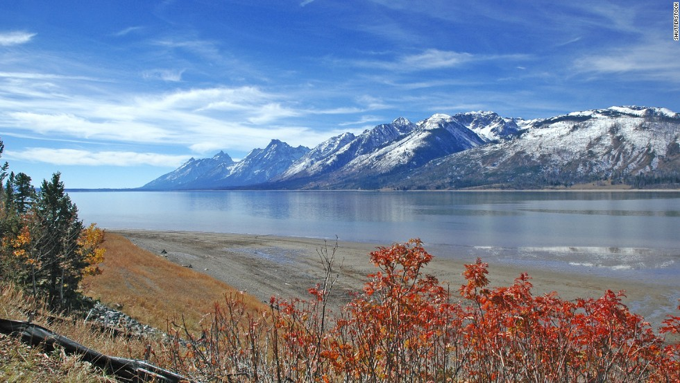 Teton Wilderness, in Jackson, Wyoming, is the second largest wilderness area in the state and ranks among the country's best wildlife areas.