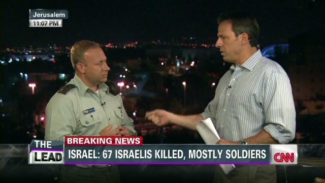 IDF spokesperson Peter Lerner_00015706.jpg
