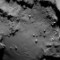rosetta comet close up ESA postcard