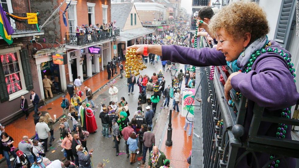 """""""The people have been through a lot, but their enthusiastic pride for their city shines,"""" says one reader about New Orleans. <br />The city is the fifth friendliest U.S. city according to Conde Nast Traveler's annual Readers' Choice Survey."""