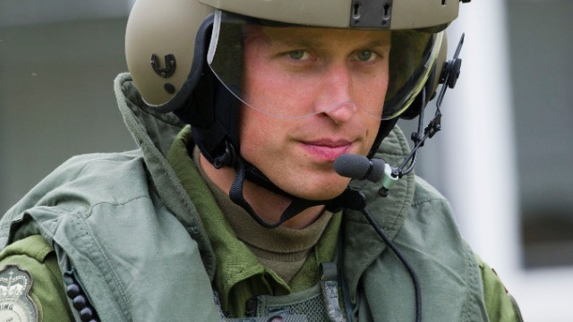 Caption:CHARLOTTETOWN, PE - JULY 04: Prince William, Duke of Cambridge takes part in helicopter manouvres called 'water birding' across Dalvay lake on July 4, 2011 in Charlottetown, Canada. The newly married Royal Couple are on the fifth day of their first joint overseas tour. The 12 day visit to North America is taking in some of the more remote areas of the country such as Prince Edward Island, Yellowknife and Calgary. The Royal couple started off their tour by joining millions of Canadians in taking part in Canada Day celebrations which mark Canada's 144th Birthday. (Photo by Arthur Edwards - Pool/Getty Images)