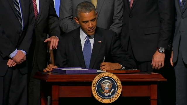 Obama signs $16.3 billion VA bill