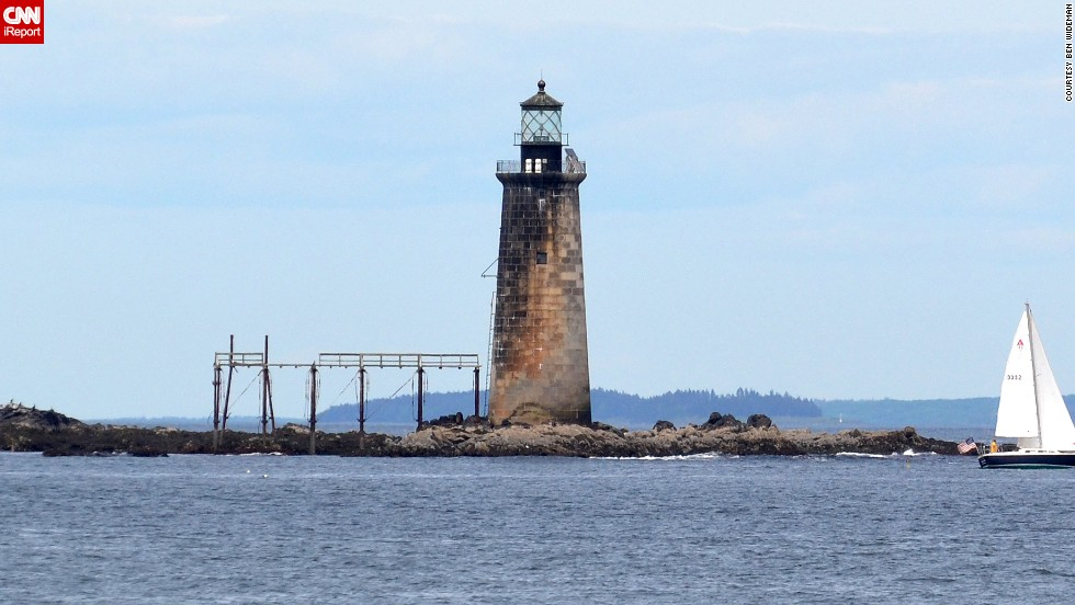 """<a href=""""http://ireport.cnn.com/docs/DOC-1159211"""">Ben Wideman</a> considers Maine's Ram Island Ledge Light the """"redheaded stepchild"""" compared to the more popular Portland Head Light across the water. """"So I turned my camera in the opposite direction that other people were pointing theirs. Just the fact it was different than the other, more popular lighthouse made it more memorable."""""""