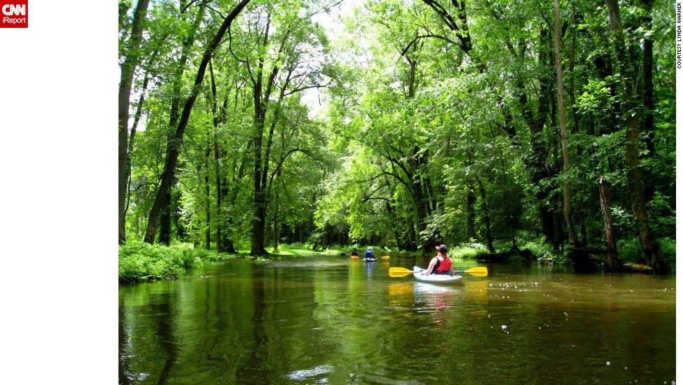 "<a href=""http://ireport.cnn.com/docs/DOC-1150362"">Jim Taliaferro </a>has paddled all but a quarter-mile of Ohio's 85-mile Cuyahoga River. It's a must-see destination for visitors, he said. ""If you're ever in the area, don't miss the chance to see a really beautiful river."""