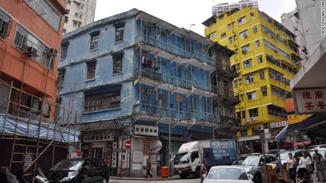 Historic Hong Kong neighborhood fights to preserve its past