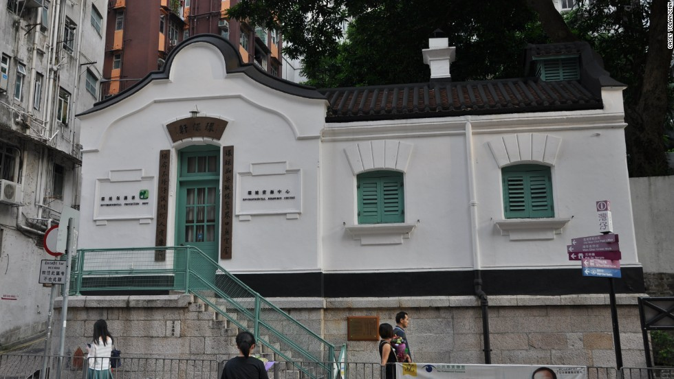 The first Wan Chai post office, built in 1915, is now a government office.