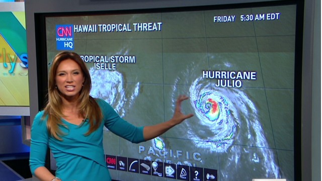 Tropical storm Iselle update Petersons Newday_00004428.jpg