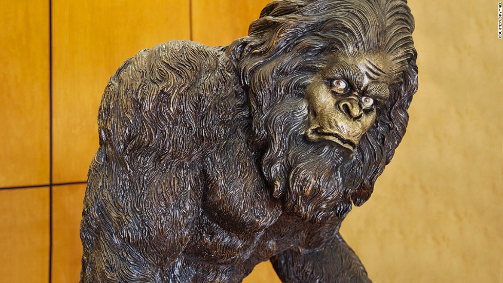 One of the most popular items in the SkyMall catalog has long been the garden yeti -- a rosin statue that comes in three sizes. The life-sized model weighs 147 pounds and costs more than $2,000.
