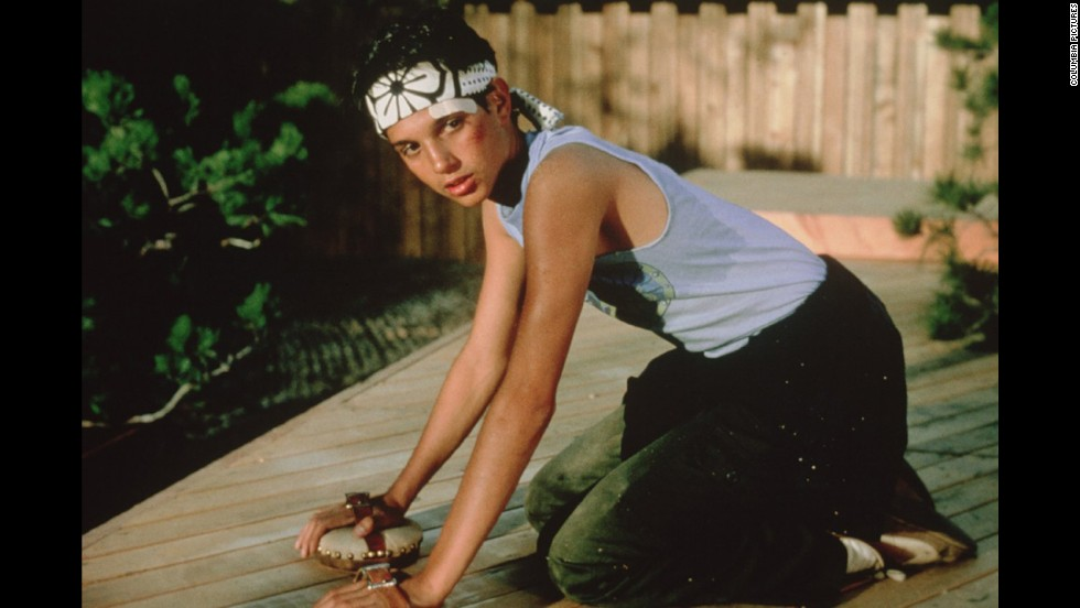 "Underdogs still wax rhapsodic about ""The Karate Kid"" with Ralph Macchio -- a tale of unlikely tutelage between a humble handyman and his picked-on protege, who sweeps victory out from under a blond martial arts bully."