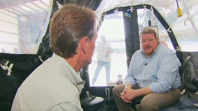 Go inside plane that held Ebola patients