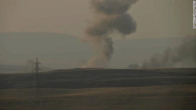 New U.S. airstrikes near Irbil, Iraq