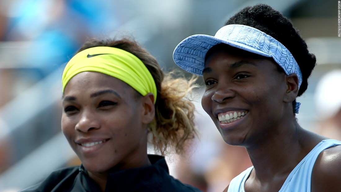 Serena and Venus Williams have won 28 grand slam singles titles between them.