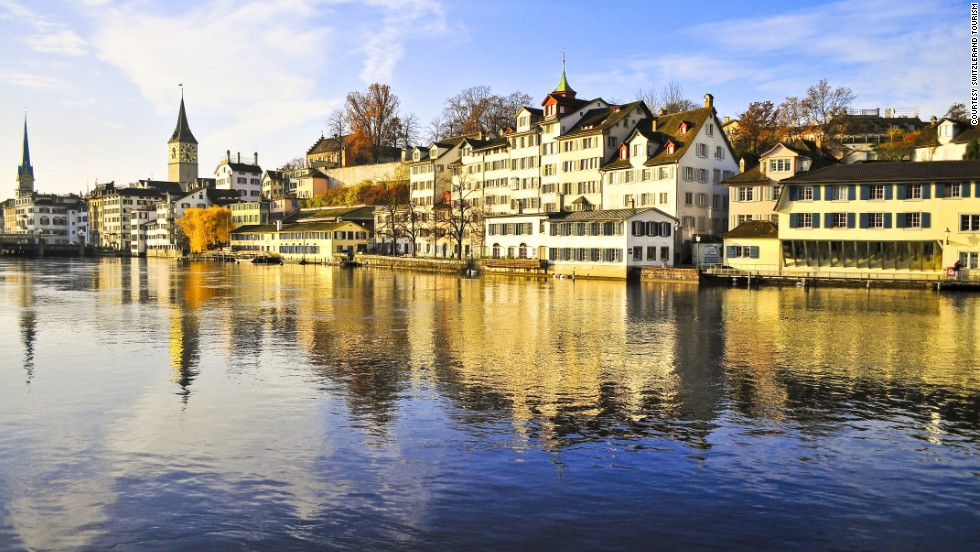 "Switzerland's largest city ranked number one in the study for ""health security,"" based on factors such as the ratio of hospital beds to population size and life expectancy."