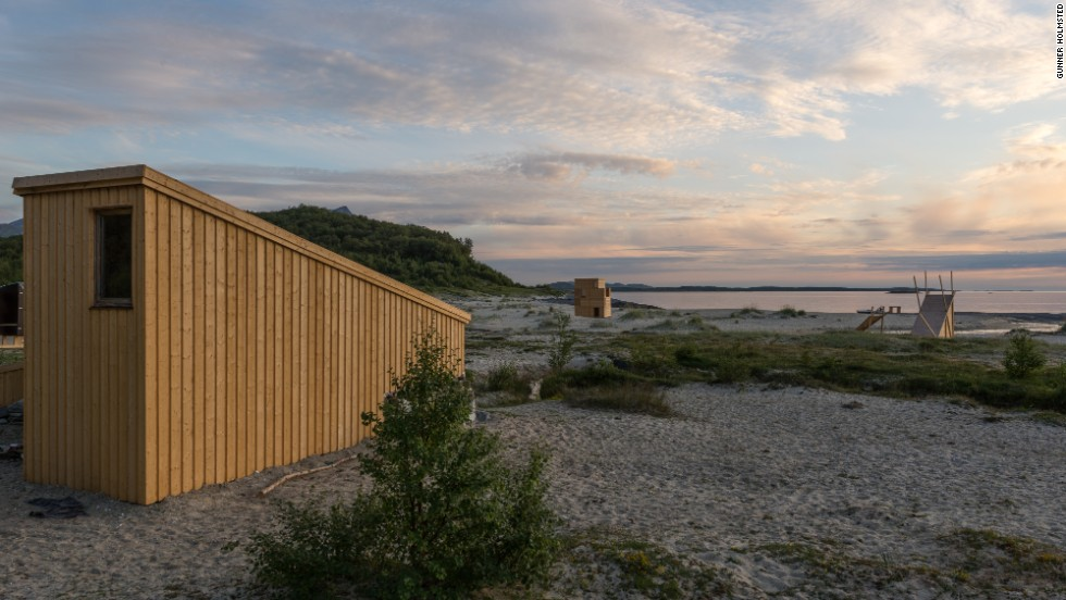 Among temporary buildings that will house the SALT Festival in its various Arctic destinations are beach huts designed by students and professionals from 13 countries.