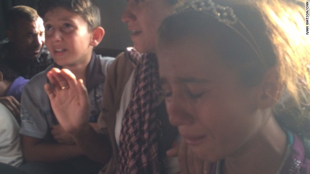 Dramatic rescue mission of Iraqi Yazidis