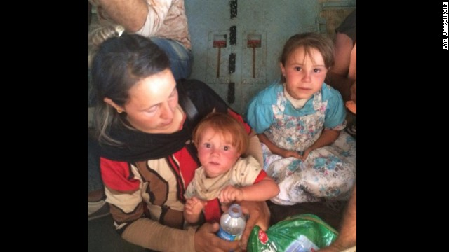 Heartbreaking task of rescuing Iraqi refugees