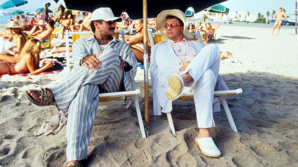 "Williams and Nathan Lane starred in the film ""The Birdcage"" in 1996."